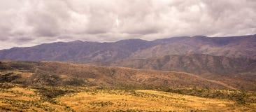 Montagnes Landcape panoramique de Bradshaw Image libre de droits