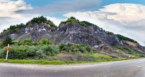 Montagnes Lopatari de sel images libres de droits
