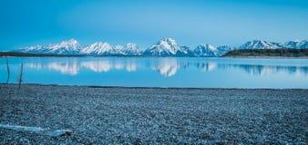 Montagnes majestueuses Photos libres de droits