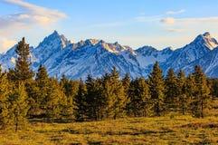 Montagnes majestueuses Images libres de droits