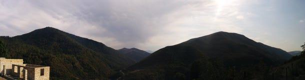 Montagnes Masalli Photo stock