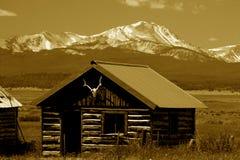 Montagnes Montana de Bitterroot Photographie stock
