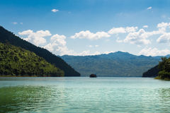 Montagnes moyennes de rivière Photographie stock