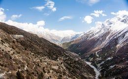 Montagnes, Népal Photographie stock libre de droits