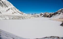 Montagnes, Népal Photo libre de droits