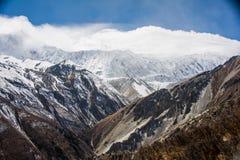 Montagnes, Népal Photos libres de droits