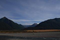 Montagnes, Nouvelle-Zélande Photographie stock libre de droits