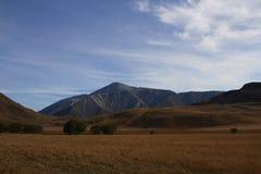 Montagnes, Nouvelle-Zélande Photos stock
