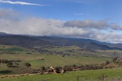 Montagnes NSW de Milou Images libres de droits
