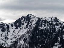 Montagnes olympiques Images libres de droits