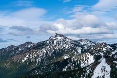Montagnes olympiques Image libre de droits