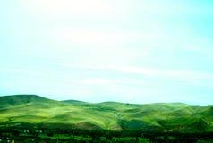Montagnes onduleuses Images libres de droits