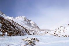 montagnes orientales d'horizontal d'altai sayan Images libres de droits