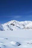 Montagnes orientales de Sayan. Altai. Image libre de droits