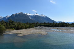 Montagnes Patagonian Photos stock