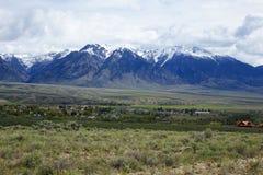 Montagnes perdues de rivière - Mackay chez l'Idaho Photos libres de droits