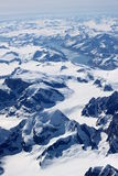 Montagnes polaires Photos stock
