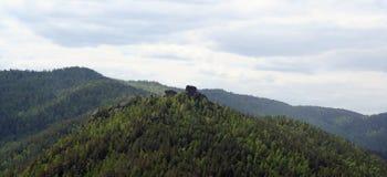 Montagnes poussin et crapaud Photographie stock