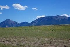 Montagnes près de Dillion, Montana Image libre de droits