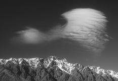 montagnes remarquables Image libre de droits