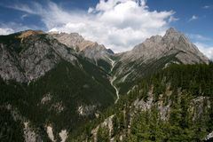 Montagnes rocheuses Image stock