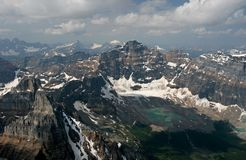 Montagnes rocheuses Photos libres de droits