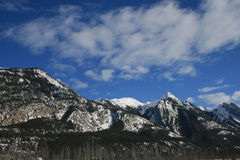 Montagnes rocheuses, Canada Photos stock