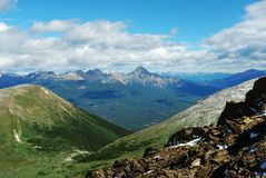 montagnes rocheuses d'été Photos stock