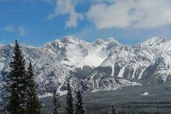 montagnes rocheuses de source Photographie stock libre de droits