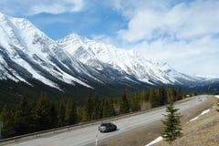 montagnes rocheuses de source Image libre de droits