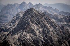 Montagnes rocheuses des Alpes d'Allgau Image libre de droits