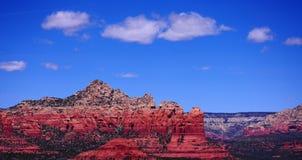 Montagnes rouges de roche de Sedona Photos stock