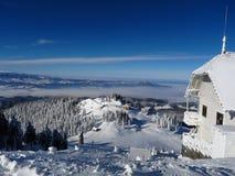 Montagnes roumaines photo stock