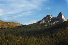 Montagnes roumaines Photographie stock