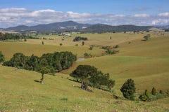Montagnes rurales de cairns de scène Photographie stock libre de droits