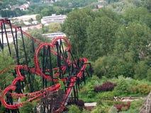 Montagnes russes à Vienne Prate Image libre de droits