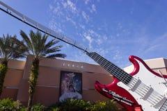 Montagnes russes d'Aerosmith Photos stock