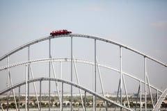 Montagnes russes du monde de Ferrari Images stock