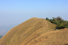montagnes sèches Photo stock
