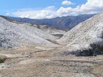 Montagnes salées Images stock
