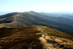 Montagnes sans fin image libre de droits