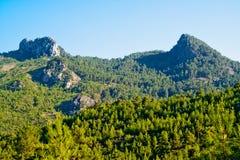 Montagnes sauvages Photos stock