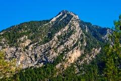 Montagnes sauvages Image libre de droits