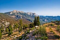 Montagnes sauvages Photos libres de droits