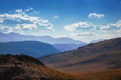 Montagnes scéniques d'Altai Image stock