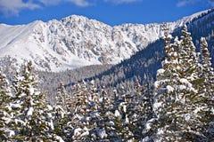Montagnes scéniques du Colorado Photos stock