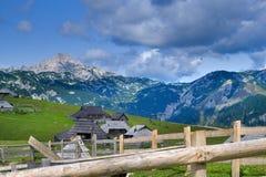 Montagnes slovènes Photographie stock libre de droits