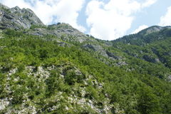 Montagnes slovènes Photos libres de droits