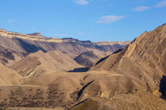 Montagnes solaires Images libres de droits