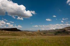 Montagnes stationnement national, Afrique du Sud de porte d'or Image stock